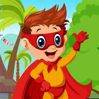 G4K Superhero Boy Rescue
