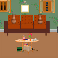 Free online flash games - Avm Forest Fort House Escape