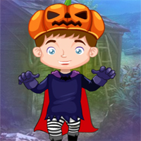 Free online flash games - G4K Little Pumpkin Boy Escape game - WowEscape