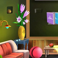 Free online html5 escape games - Cartoon Home 4
