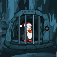 Free online flash games - Games4Escape Christmas Penguin Escape