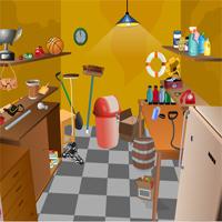 Free online flash games - Trash Room Escape game - WowEscape