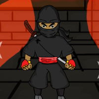 Free online flash games - Ninja Warrior Rescue