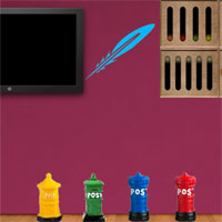 Free online flash games - 8b Postman Escape