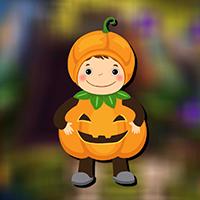 Free online flash games - AvmGames Cute Pumpkin Boy Rescue Escape game - WowEscape