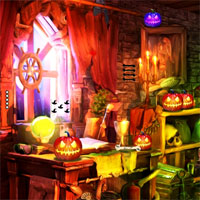 Free online flash games - Top10NewGames Escape From Ghost House 3  game - WowEscape