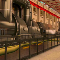 Free online flash games - Battersea Power Station Escape