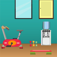 Free online flash games - Games4Escape Office Gym Escape