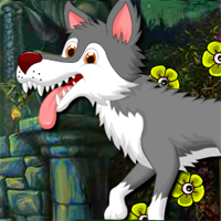 Free online flash games - AVMGames Amiable Forest Wolf Escape