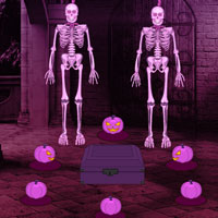 Halloween Castle Pumpkin Escape