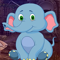 Free online flash games - G4K Sitting Elephant Escape  game - WowEscape