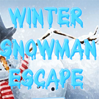 Winter Snowman Escape