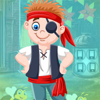 Free online flash games - G4K Elated Pirate Escape