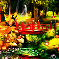 Top10NewGames Halloween Gardening Escape