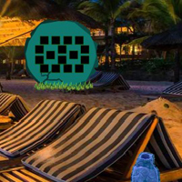 Free online html5 games - New Year Night Beach Escape game