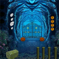 8bGames Pumpkin Forest Escape