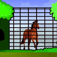 Free online flash games - Top Rescue The Horse game - WowEscape