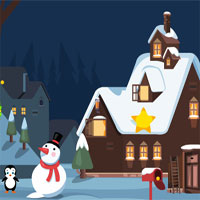Free online flash games - KidsJollyTv  Happy Christmas Penguin Escape game - WowEscape