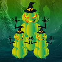 Free online flash games - Games2rule Fantasy Halloween Escape game - WowEscape