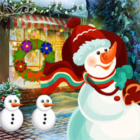 Games4King Christmas Snowman Rescue
