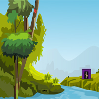 Free online html5 games - GamesZone15 Hyena Forest Escape game