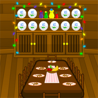 Free online flash games - Escape Christmas Cabin