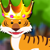Free online flash games - Avm Forest King Tiger Rescue game - WowEscape