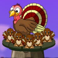 Free online flash games - Games4Escape Thanksgiving Chicks Rescue