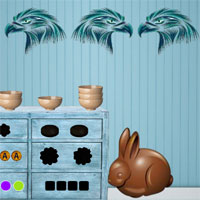 Free online flash games - 8b Cute Bunny Escape