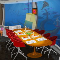 Free online flash games - Knf Underwater Restaurant Escape