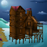 Free online flash games - EnaGames The Circle-Abandoned Beach House Escape game - WowEscape