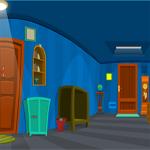 Free online flash games - Cobalt Blue House Escape game - WowEscape