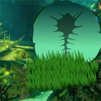 Free online flash games - Fantasy Underwater Seahorse Escape