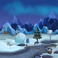 Free online flash games - Games4Escape Xmas Penguin Escape