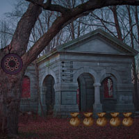 Free online flash games - Creepy Forest Escape Games2rule game - WowEscape