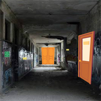 Free online flash games - GFG Abandoned School Hallway Escape