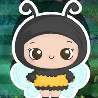 Free online flash games - Games4king Bee Girl Escape