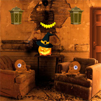 Free online flash games - Spooky Halloween Escape