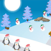 Free online flash games - AvmGames Santa Rescue From Snow Hut