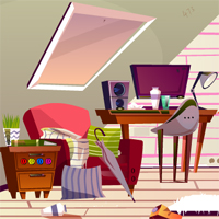 Free online flash games - Messy Interior Escape