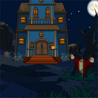 Free online flash games - SiviGames Holloween Horror House Girl Escape