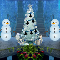 Free online flash games - AngelEscape Santa Cabin Escape