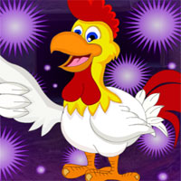 Free online flash games - G4K Cheerful Rooster Escape