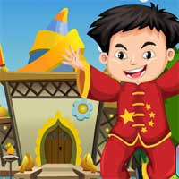 Games4King Happy Chinese Boy Rescue