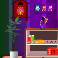 G4K Cute Purple House Escape