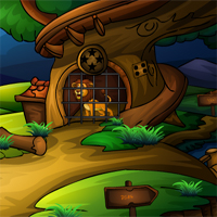 Sivigames Rescue The Forest King Escape