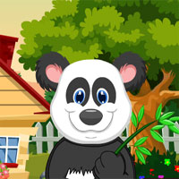 Free online flash games - G4K Cute Giant Panda Rescue game - WowEscape