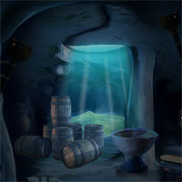 Blue Treasury Cave Escape 5nGames