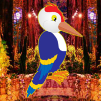 Games2rule Fantasy Forest Woodpecker Escape