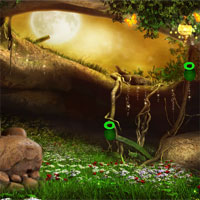 Free online flash games - Mushroom House Baby Fairy Escape game - WowEscape